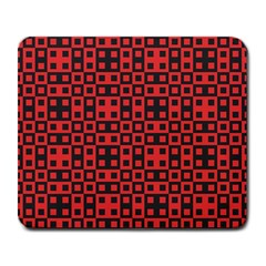 Abstract Background Red Black Large Mousepads