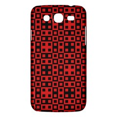 Abstract Background Red Black Samsung Galaxy Mega 5 8 I9152 Hardshell Case