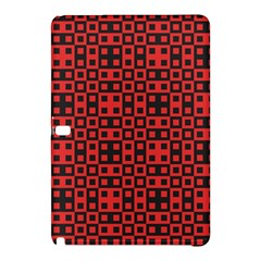 Abstract Background Red Black Samsung Galaxy Tab Pro 10 1 Hardshell Case by BangZart
