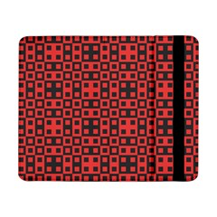 Abstract Background Red Black Samsung Galaxy Tab Pro 8 4  Flip Case