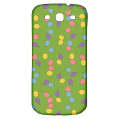 Balloon Grass Party Green Purple Samsung Galaxy S3 S Iii Classic Hardshell Back Case