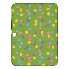 Balloon Grass Party Green Purple Samsung Galaxy Tab 3 (10 1 ) P5200 Hardshell Case