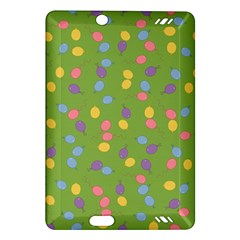 Balloon Grass Party Green Purple Amazon Kindle Fire Hd (2013) Hardshell Case