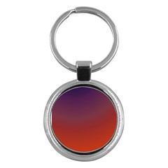 Course Colorful Pattern Abstract Key Chains (round)  by BangZart