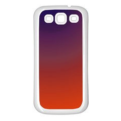 Course Colorful Pattern Abstract Samsung Galaxy S3 Back Case (white)