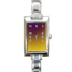 Course Colorful Pattern Abstract Rectangle Italian Charm Watch by BangZart