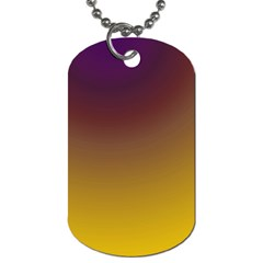 Course Colorful Pattern Abstract Dog Tag (two Sides)