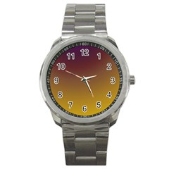 Course Colorful Pattern Abstract Sport Metal Watch