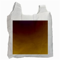 Course Colorful Pattern Abstract Recycle Bag (one Side)
