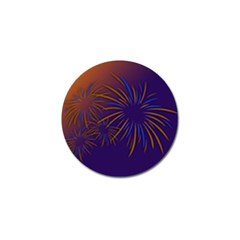 Sylvester New Year S Day Year Party Golf Ball Marker (4 Pack)