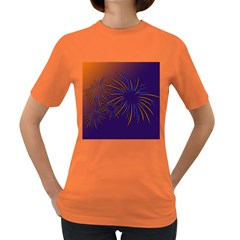 Sylvester New Year S Day Year Party Women s Dark T Shirt