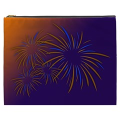 Sylvester New Year S Day Year Party Cosmetic Bag (xxxl)