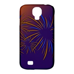 Sylvester New Year S Day Year Party Samsung Galaxy S4 Classic Hardshell Case (pc+silicone)