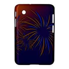 Sylvester New Year S Day Year Party Samsung Galaxy Tab 2 (7 ) P3100 Hardshell Case