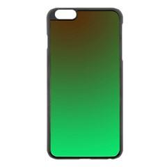 Course Colorful Pattern Abstract Apple Iphone 6 Plus/6s Plus Black Enamel Case