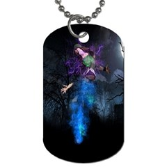 Magical Fantasy Wild Darkness Mist Dog Tag (two Sides) by BangZart