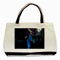 Magical Fantasy Wild Darkness Mist Basic Tote Bag (two Sides)