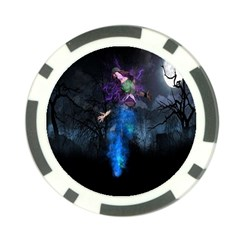 Magical Fantasy Wild Darkness Mist Poker Chip Card Guard