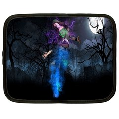 Magical Fantasy Wild Darkness Mist Netbook Case (large) by BangZart