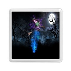 Magical Fantasy Wild Darkness Mist Memory Card Reader (square)