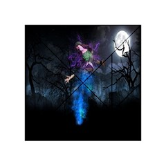 Magical Fantasy Wild Darkness Mist Acrylic Tangram Puzzle (4  X 4 )