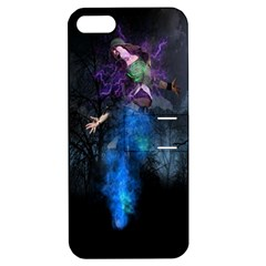 Magical Fantasy Wild Darkness Mist Apple Iphone 5 Hardshell Case With Stand