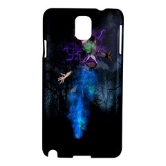 Magical Fantasy Wild Darkness Mist Samsung Galaxy Note 3 N9005 Hardshell Case by BangZart