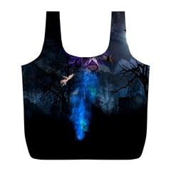 Magical Fantasy Wild Darkness Mist Full Print Recycle Bags (l)  by BangZart