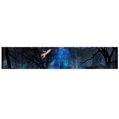 Magical Fantasy Wild Darkness Mist Large Flano Scarf