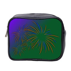 Sylvester New Year S Day Year Party Mini Toiletries Bag 2 Side