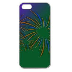 Sylvester New Year S Day Year Party Apple Seamless Iphone 5 Case (clear)