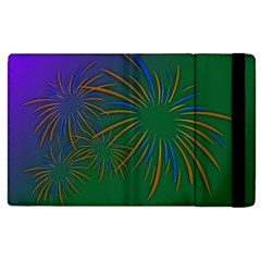 Sylvester New Year S Day Year Party Apple Ipad 2 Flip Case