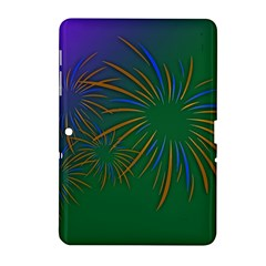 Sylvester New Year S Day Year Party Samsung Galaxy Tab 2 (10 1 ) P5100 Hardshell Case