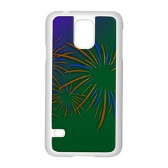 Sylvester New Year S Day Year Party Samsung Galaxy S5 Case (white)