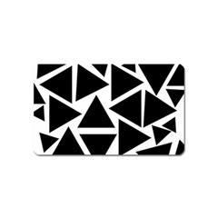 Template Black Triangle Magnet (name Card) by BangZart