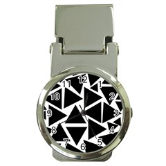 Template Black Triangle Money Clip Watches
