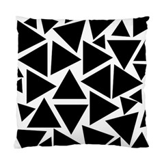 Template Black Triangle Standard Cushion Case (two Sides)