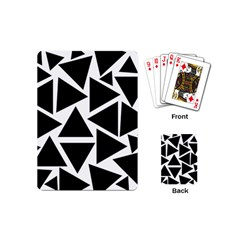 Template Black Triangle Playing Cards (mini)