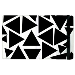 Template Black Triangle Apple Ipad 3/4 Flip Case by BangZart