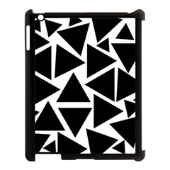Template Black Triangle Apple Ipad 3/4 Case (black)