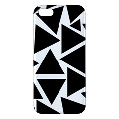 Template Black Triangle Apple Iphone 5 Premium Hardshell Case