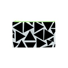 Template Black Triangle Cosmetic Bag (xs) by BangZart