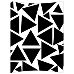 Template Black Triangle Back Support Cushion