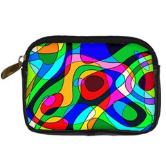 Digital Multicolor Colorful Curves Digital Camera Cases