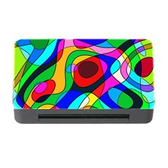 Digital Multicolor Colorful Curves Memory Card Reader With Cf