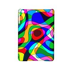 Digital Multicolor Colorful Curves Ipad Mini 2 Hardshell Cases