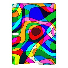 Digital Multicolor Colorful Curves Samsung Galaxy Tab S (10 5 ) Hardshell Case