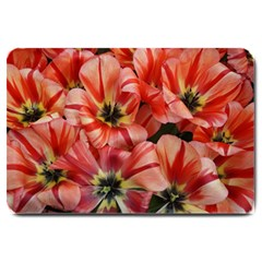 Tulips Flowers Spring Large Doormat