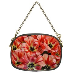 Tulips Flowers Spring Chain Purses (two Sides)