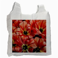Tulips Flowers Spring Recycle Bag (one Side)